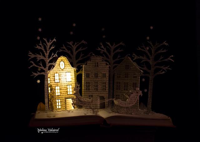 book-art-paper-model