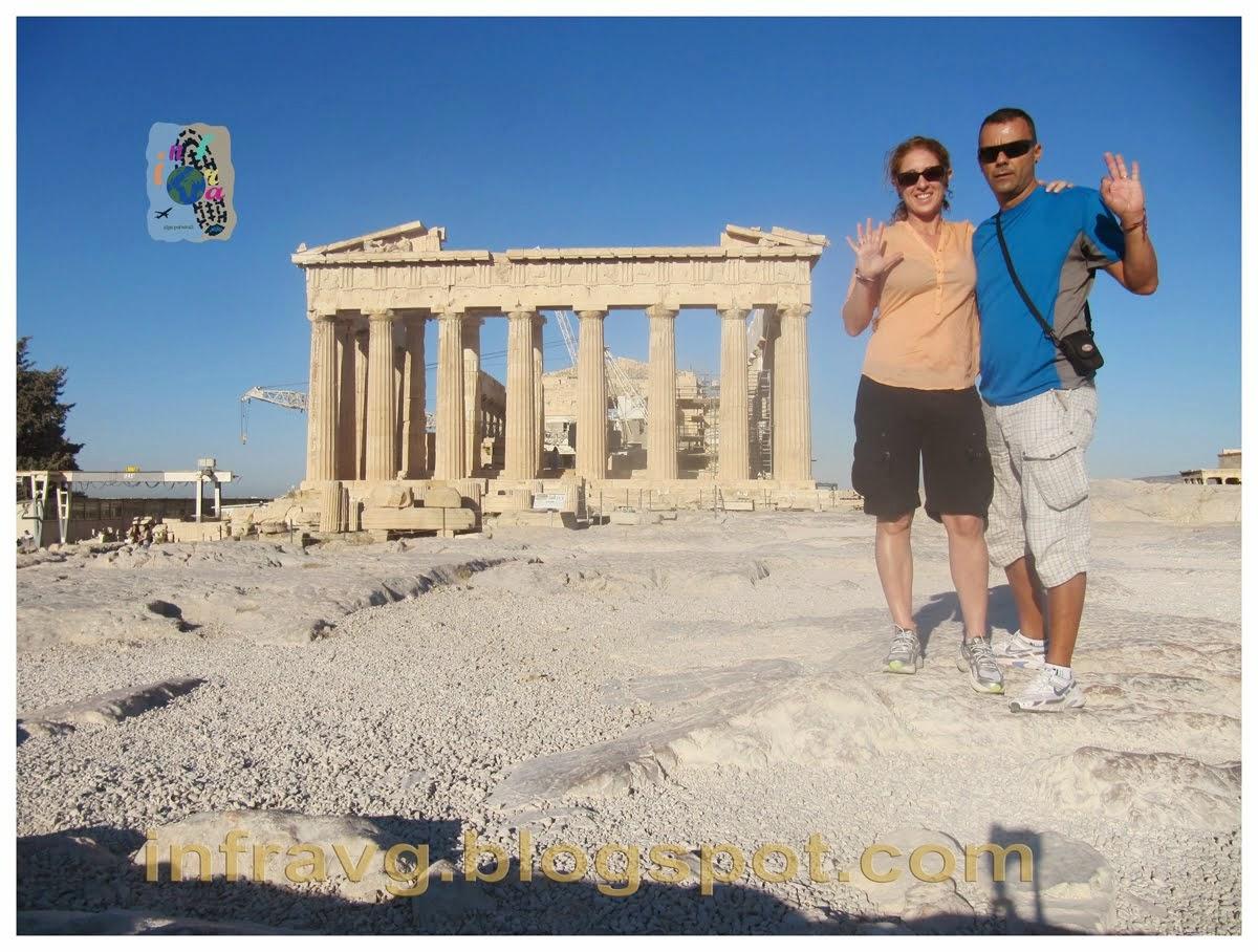 Partenón griego.