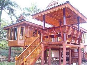 ไม้ หลากหลายสไตล์    ลวดลายวิจิตรบรรจงด้วยฝีมือคนไทย