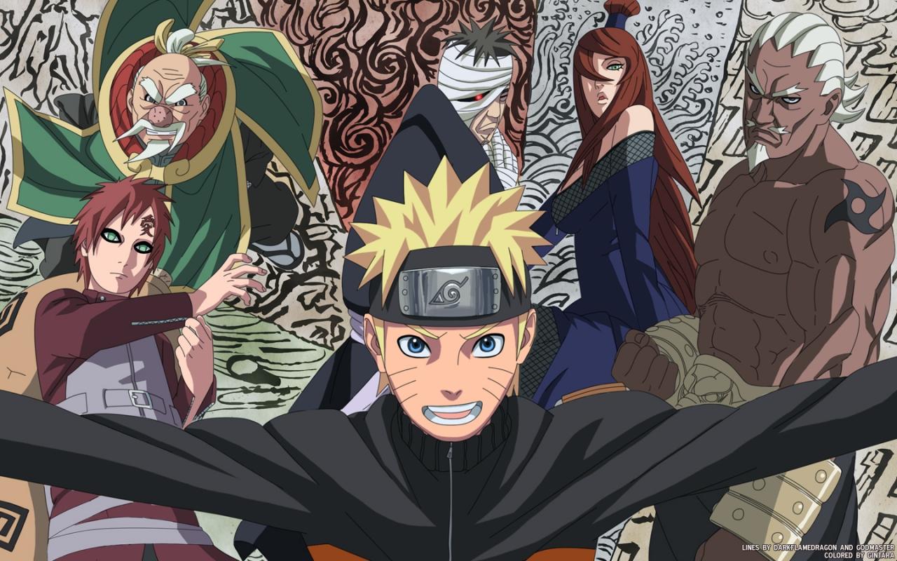 Fondos de Pantalla de Naruto Shippuden