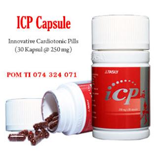 Obat Herbal Jantung Lemah ICP Capsule, obat lemah jantung, obat jantung lemah, icp capsule