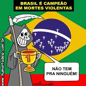 E assim Jesus Cristo teve sua segunda morte: fuzilado em Brasília