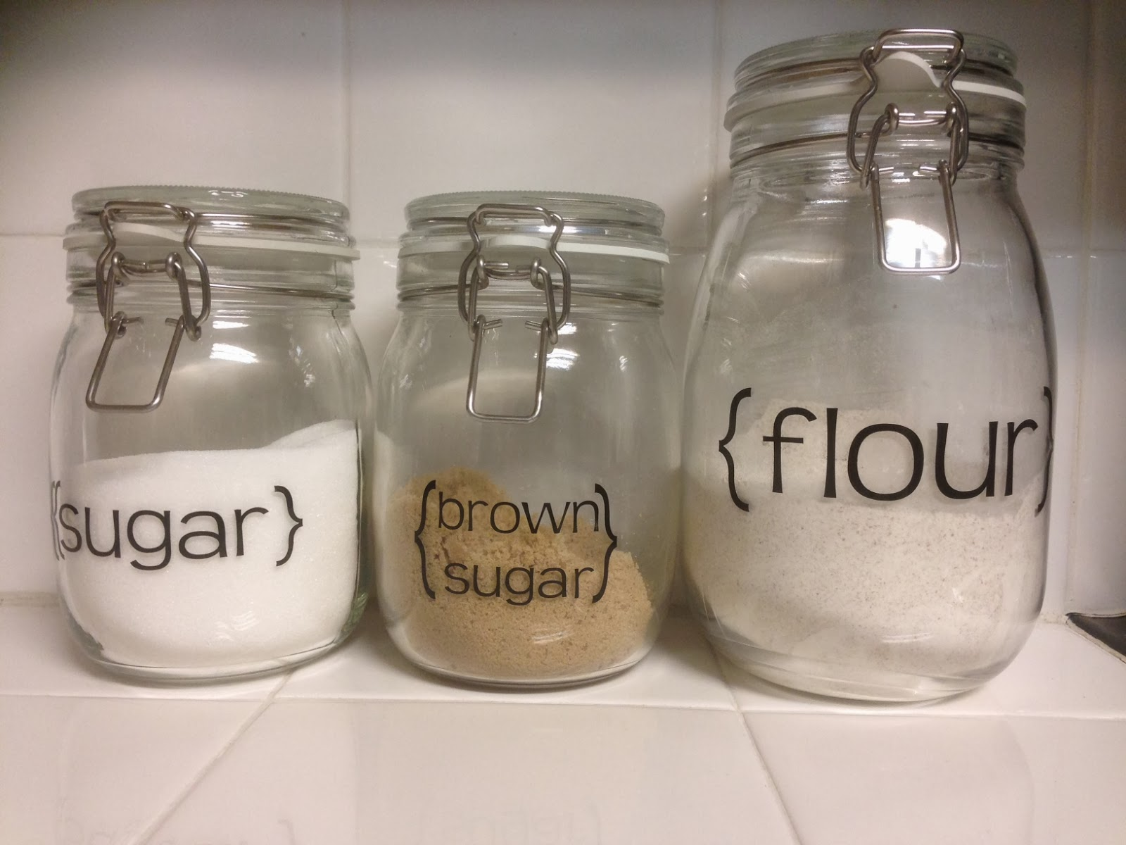 Kitchen Counter Containers
