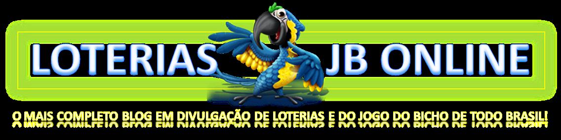 JOGO DO BICHO - O MAIS COMPLETO BLOG EM DIVULGAÇÃO DE LOTERIAS E DO JOGO DO BICHO DE TODO BRASIL!