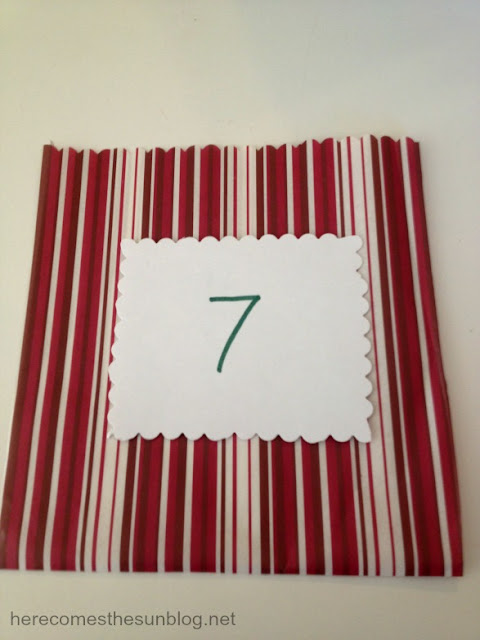 Pocket Advent Calendar