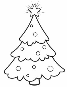 origami christmas tree paper template 3