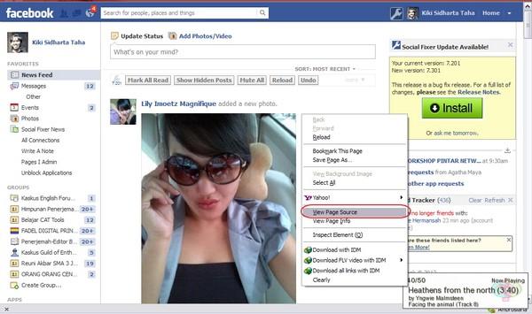cara mengetahui pengunjung profil facebook kita
