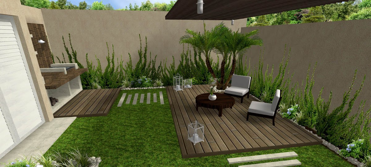 10 ideas grandes para jardines peque os dise os de for Macetas rectangulares grandes