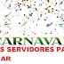 Saiu a primeira lista de servidores da saúde para trabalhar no carnaval.