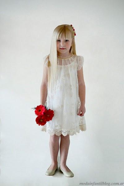 vestidos para fiesta niñas verano 2014 gro