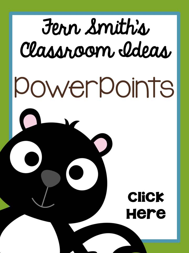 Fern Smith's Classroom Ideas PowerPoints Web Sites