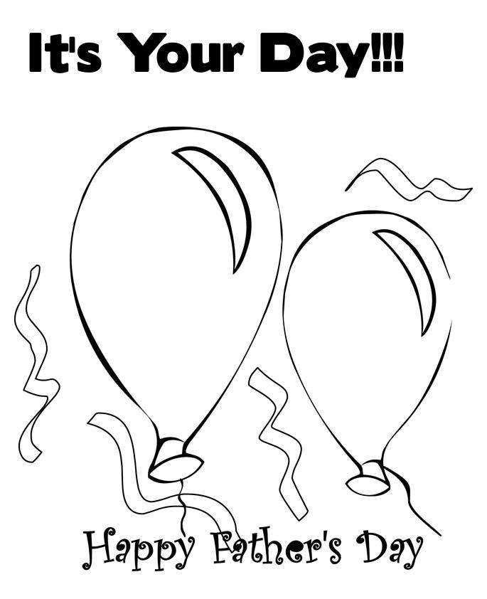 fathers day coloring pages activity - photo#30