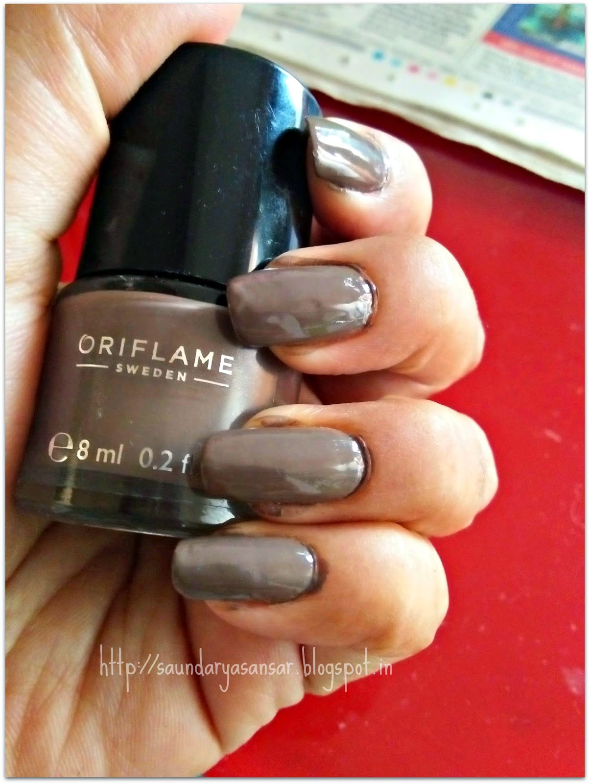 Beauty and Fashion obsessions: Oriflame Sweden Pure Color Nail ...