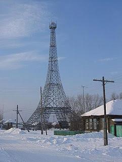 Replica de la Torre Eiffel en Parith - Rusia - que visitar