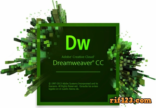 [Rif123.com] Download  Adobe Dreamweaver CC 2014 Final [ 344 MB ]