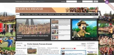 Website Pramuka Smanab