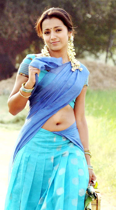 Tamil Cinema Foto Trisha Krishnan Half Saree Spicy Gallery