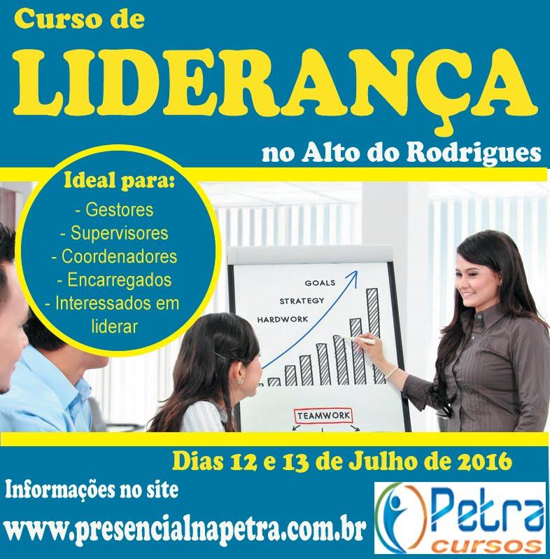 Curso de Liderança em Alto do Rodrigues