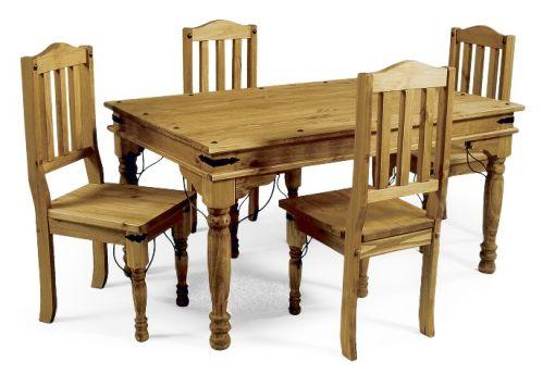Carpinteriasanjose muebles de comedor for Comedores de madera baratos
