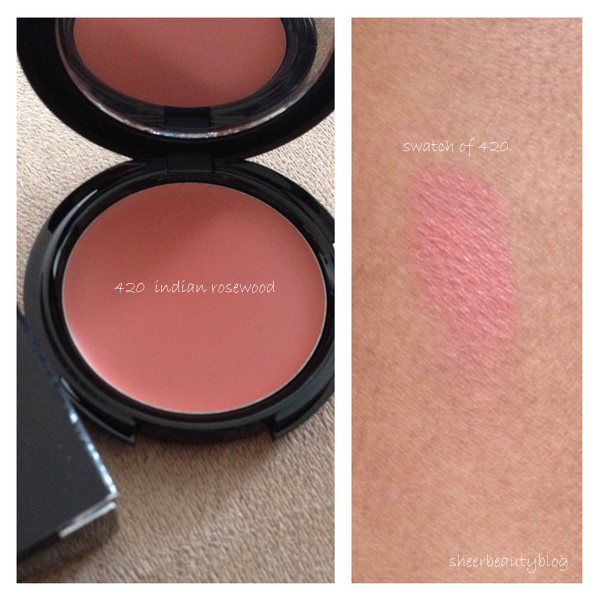Sheer Beauty: MAKE UP FOR EVER HD CREAM BLUSH REVIEW