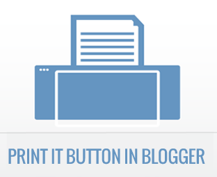 Print It Button For SEO Blogger