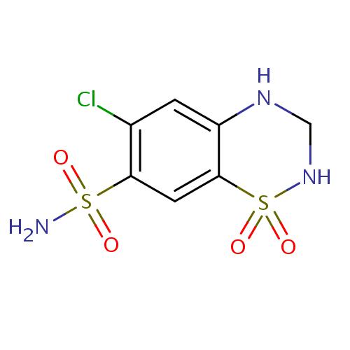 Hydrochlorothiazide / Hidroklorotiazid. / HCT