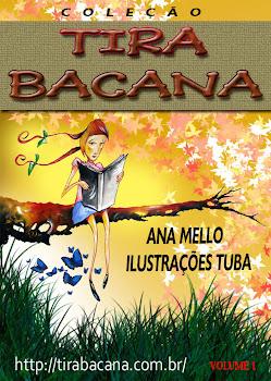 LIVRO ONLINE COLEÇÃO TIRA BACANA - VOLUME 1