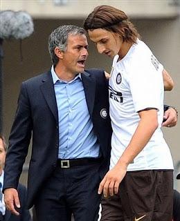 Mourinho Quiere ver Blanco Ibrahimovic