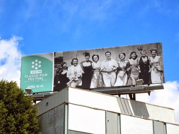 2014 TCM Classic Film Festival billboard