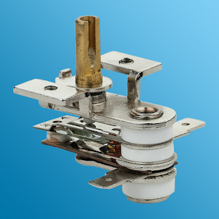 adjustable thermostat for oven iron and cooker