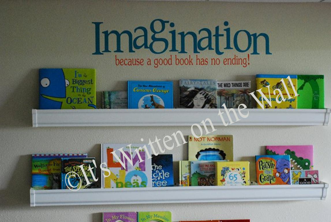 It 39 s written on the wall tutorial what are rain gutter for Plastic rain gutter bookshelf