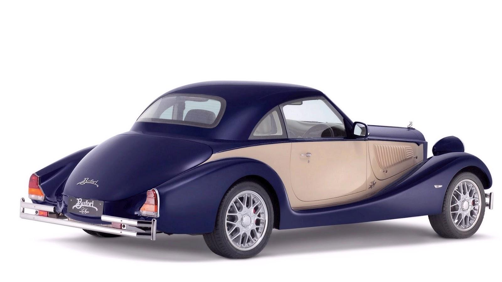 Claret and silver color vintage car