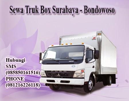 Sewa Truk Box Surabaya-Bondowoso