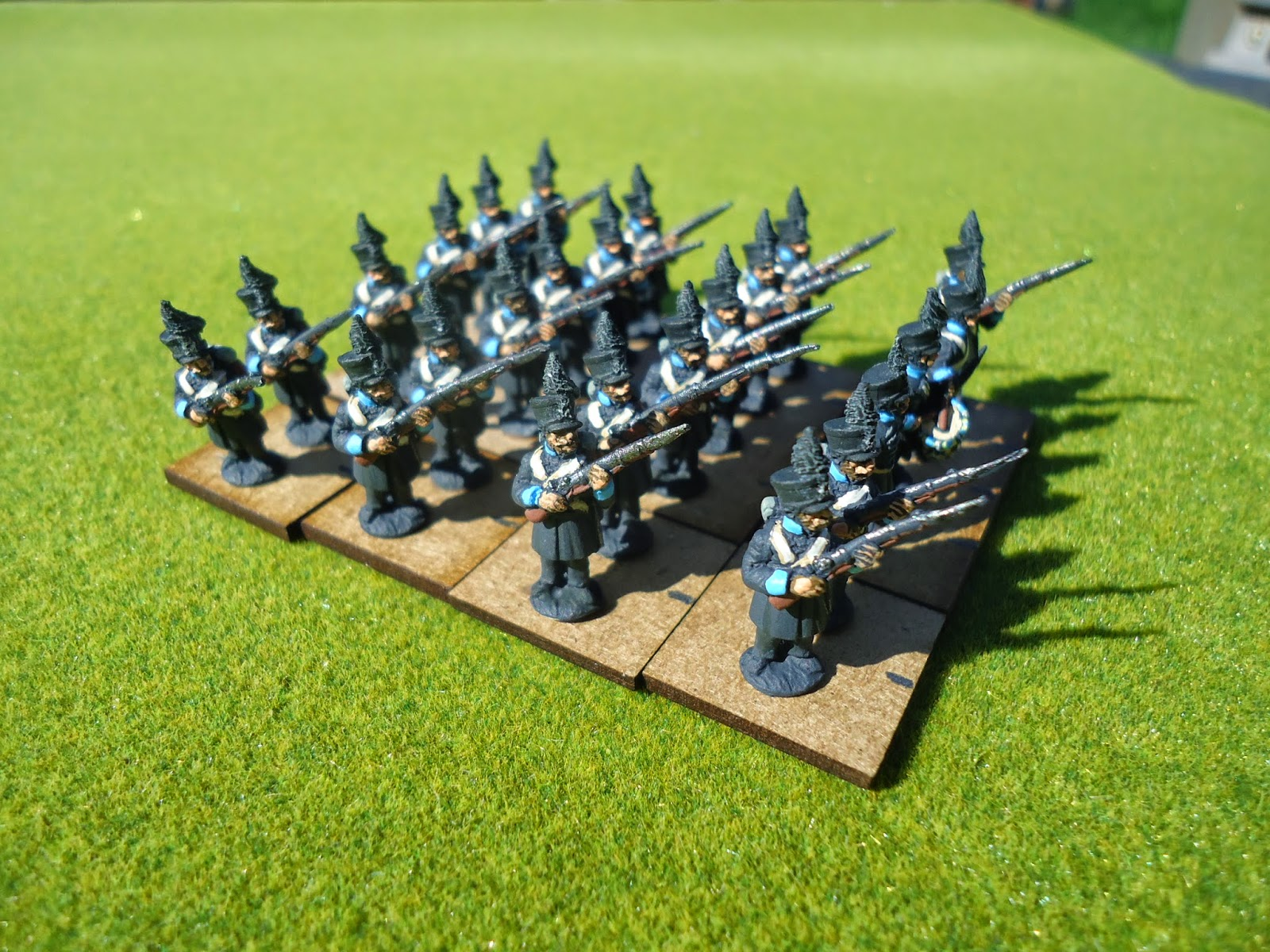 Napoleonic 15mm Rules on a 15mm Napoleonics Game