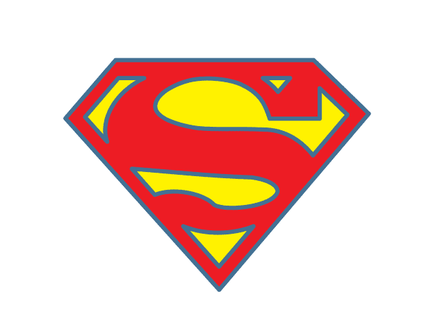 Free Design Elements Superman Logo Vector : Superman2BLogo from 3dmodel.domawe.com size 640 x 480 png 7kB