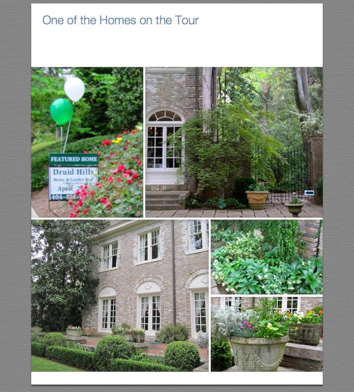 Wydeven Designs Druid Hills Home And Garden Tour A: atlanta home and garden