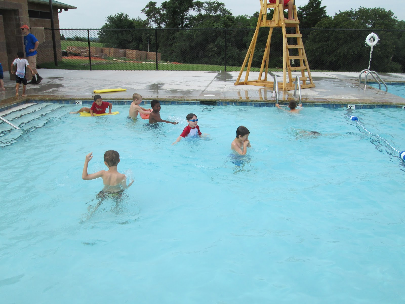 Cub scout pack 777 day camp part 3 swimming for Pack swimming