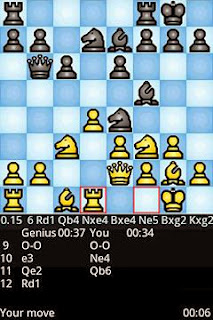 Screenshots of the Chess genius for Android tablet, phone.