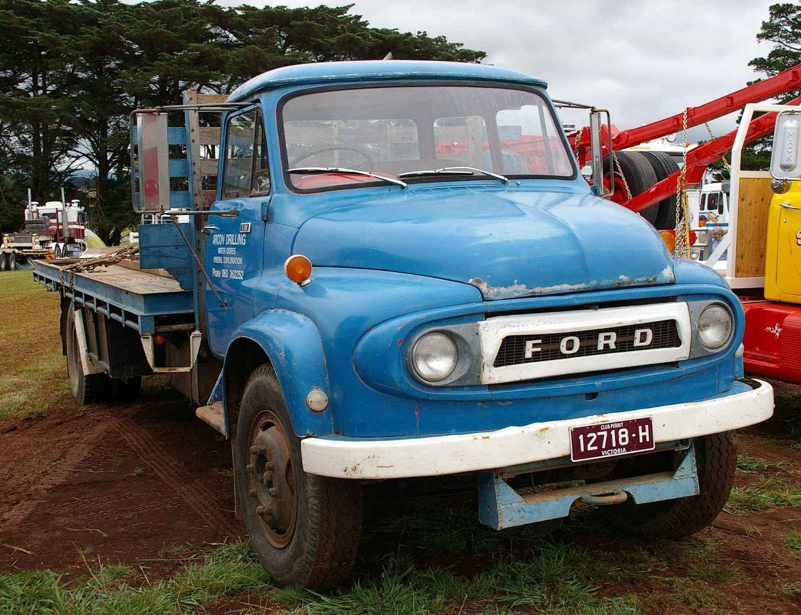 Historic Trucks: Neerim Show 2016