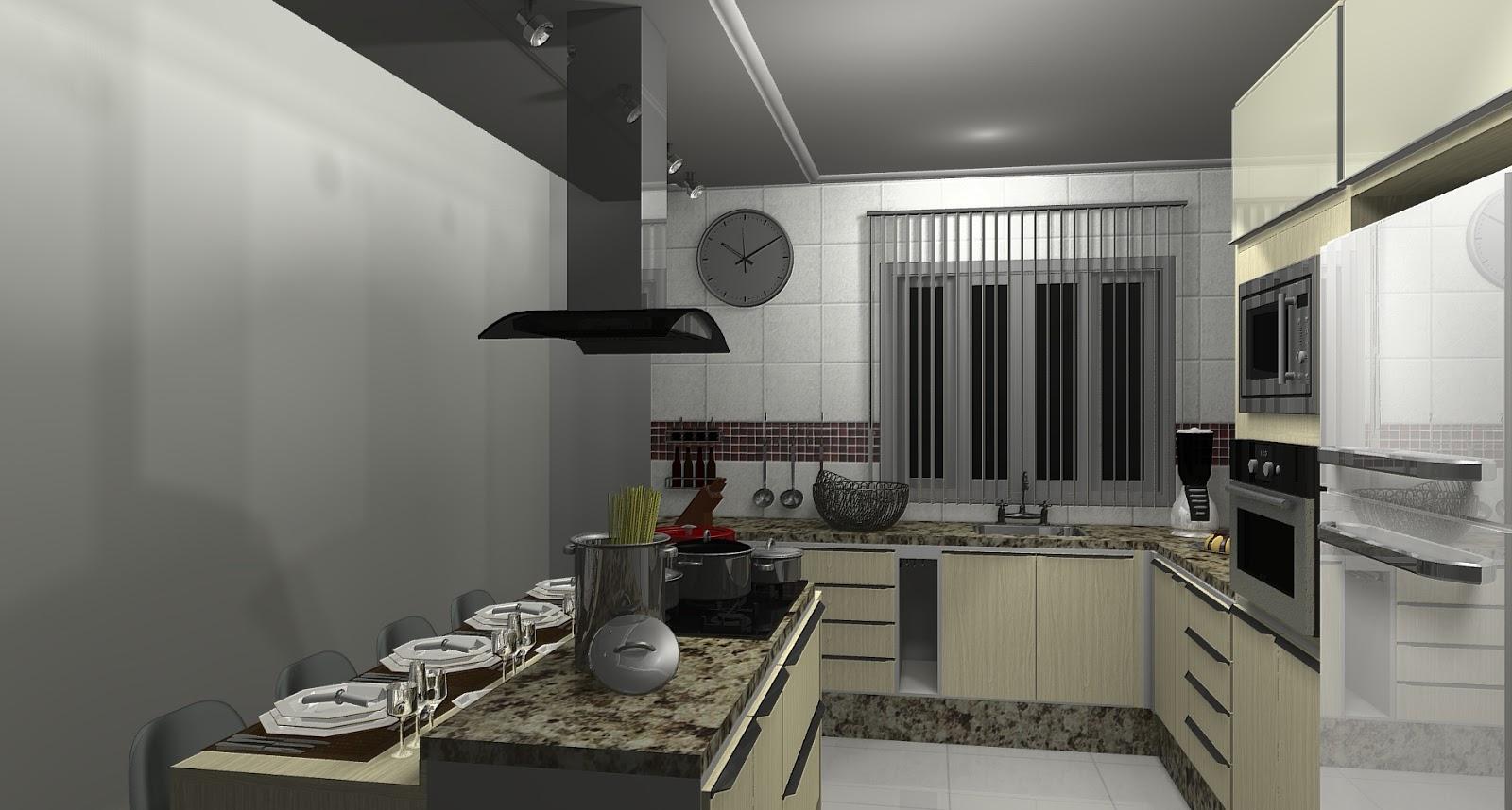 519573 Balcão ilha na cozinha 4 Balcão ilha na cozinha: saiba mais #575146 1600 858