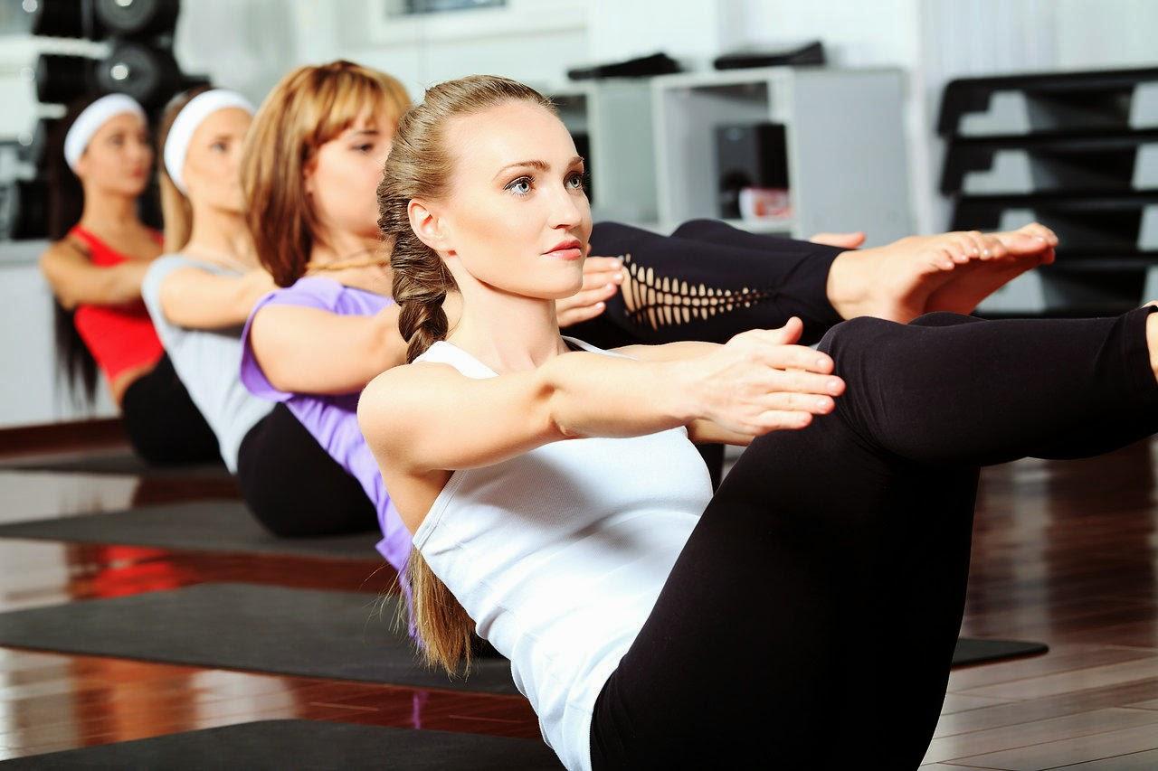 hilangkan lemak di perut dengan pilates