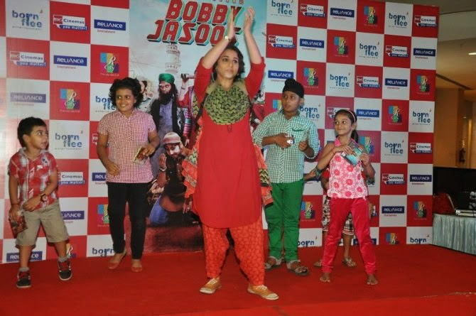 Vidya Balan Promoting Bobby Jasoos
