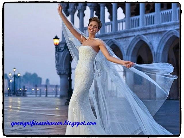significado de los sueños novia vestida de blanco: soñar con mujer