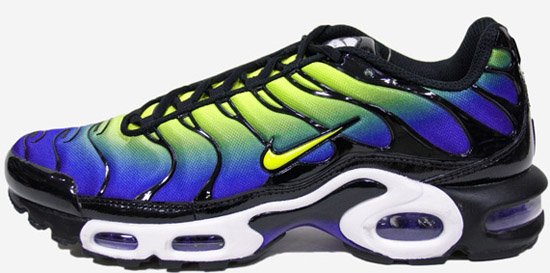 nike air max plus tn 1 hyper blue cyber black model aviation