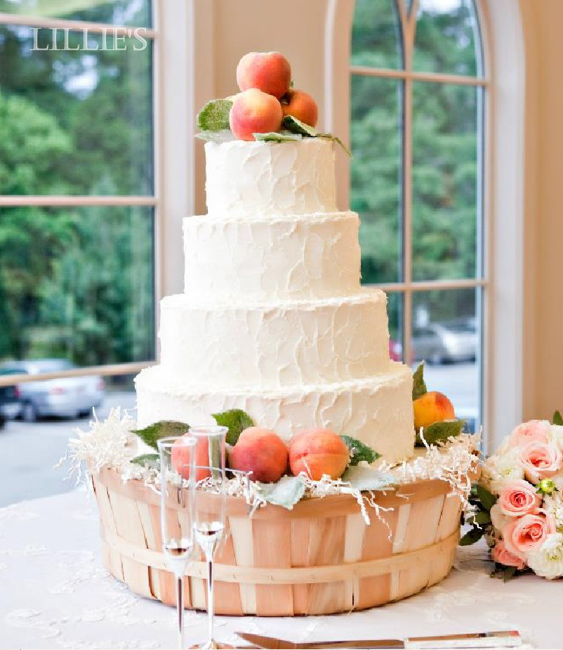 Sugared Fruit Wedding Cake