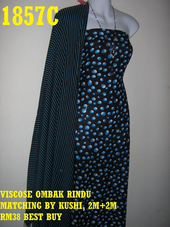 VOM 1857C: VISCOSE OMBAK RINDU MATCHING BY KUSHI, 2M+2M