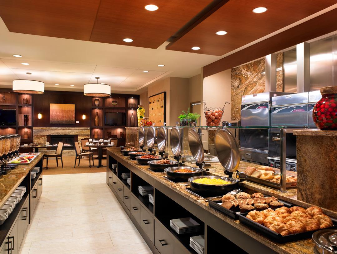 Swankmama hyatt regency bellevue hotel review for Hotel restaurant