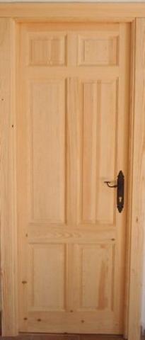 Casas cocinas mueble puertas madera baratas for Puertas de madera baratas