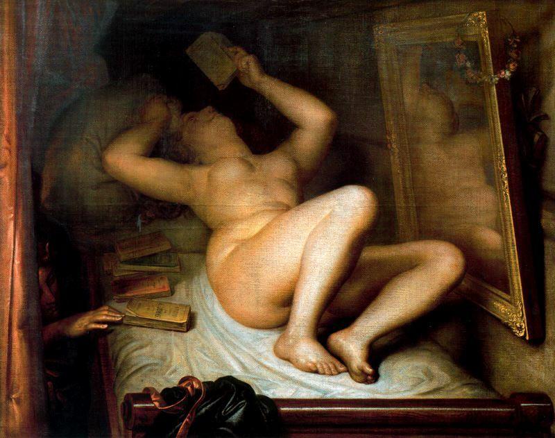 Antoine Joseph Wiertz (22 February 1806 – 18 June 1865) was a Belgian romantic painter and sculptor.