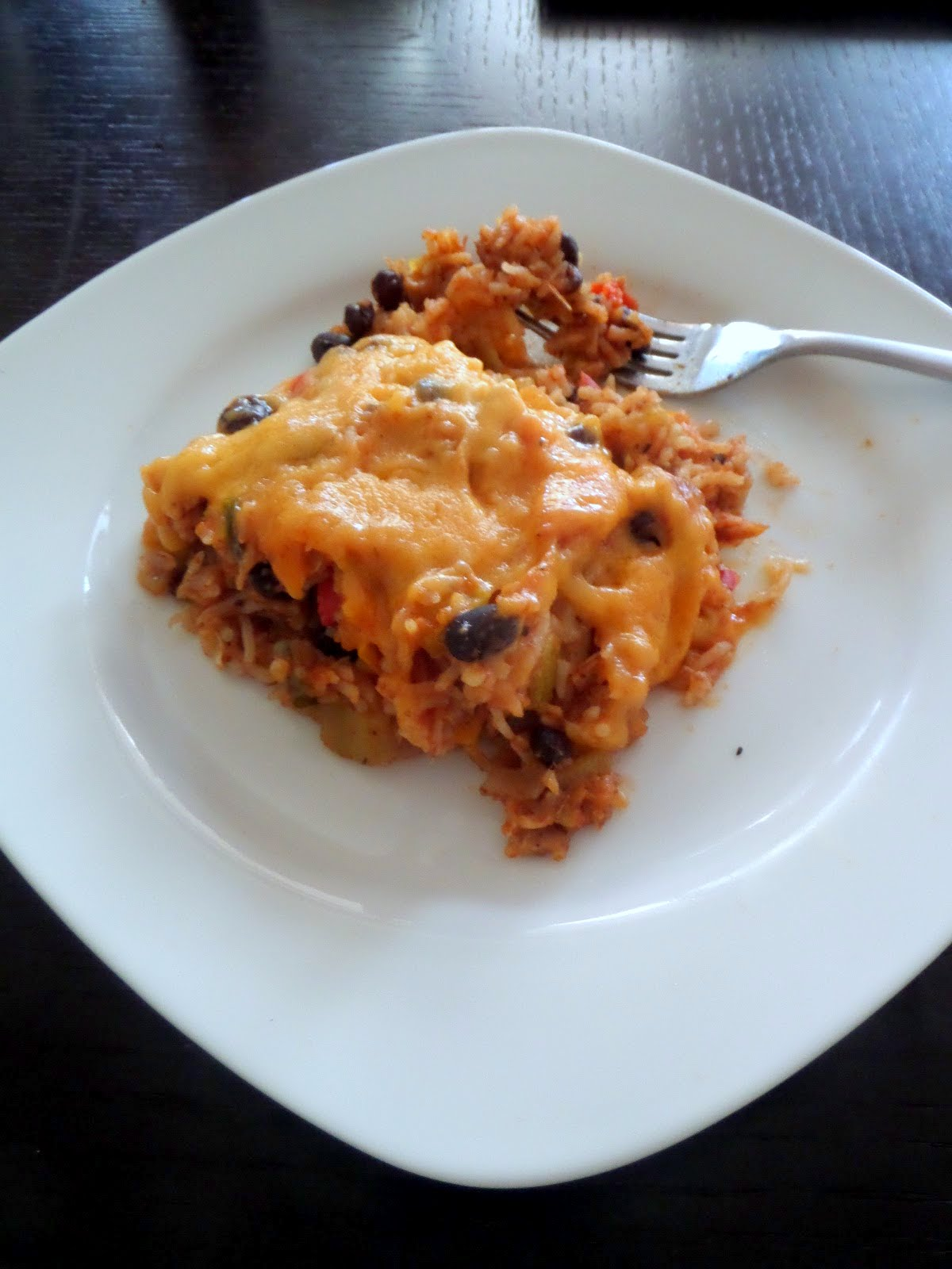 Unstuffed Pepper Casserole:  Stuffed peppers, unstuffed, and made into a casserole.